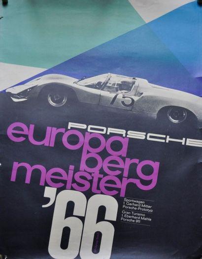 PORSCHE 906. Championne d'Europe de la Montagne...