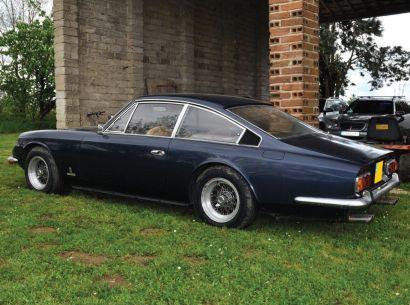 FERRARI 365 GTB 2+2 1970 N° Série 12005. Présentée au Salon de Paris 1967 elle remplace...