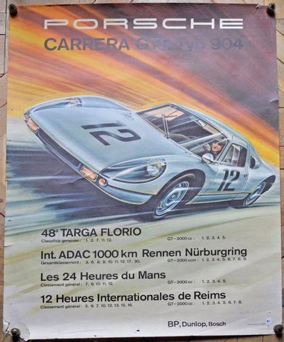 PORSCHE 904 GTS. Targa Florio- Le Mans- Reims-...