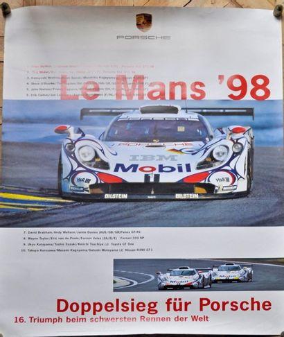 PORSCHE. Le Mans 98. 1° McNish, Ortelli,...