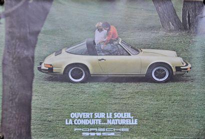 PORSCHE 911SC. Affiche 75x100cm PORSCHE 911SC....