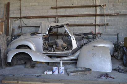 MERCEDES 220 Cabriolet A, 1952 Numéro de...