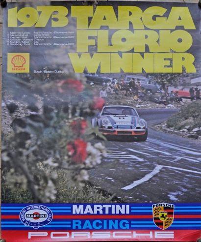 PORSCHE Targa Florio 1973. 1° Müller - Van...