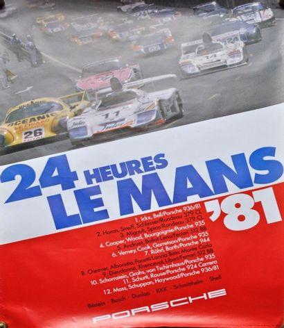 PORSCHE: 24h du Mans 81, 1° Ickx - Bell-...