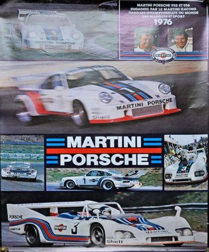 PORSCHE Martini 935 et 936- 1976, Ickx- Mass....