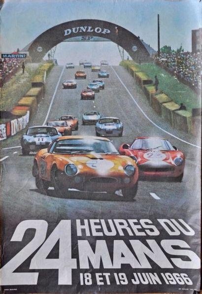 24h du Mans 1966, Ferrari 275 et 250 LM....