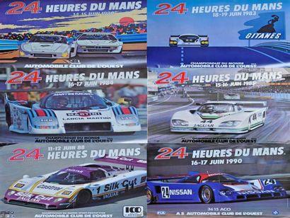 24h du Mans 1980, 1983, 1984, 1985, 1988,...