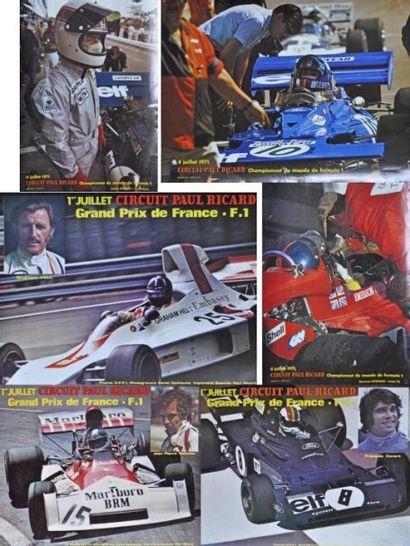 GP de France 1971 Paul Ricard. Beltoise,...