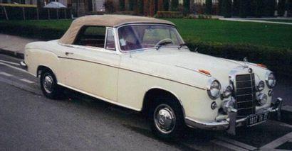 MERCEDES 220S CABRIOLET - 1957 Mercedes produit...