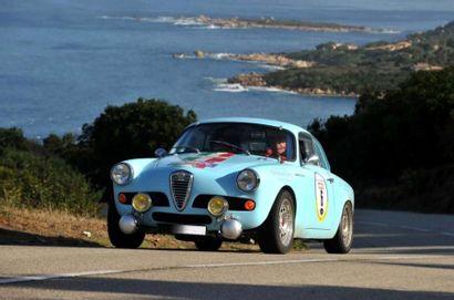 Alfa Romeo Giulietta Sprint Veloce « Carrera Panamericana » 1960