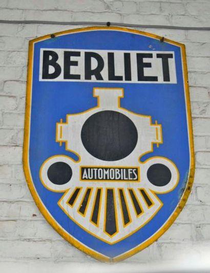 Plaque Berliet (108x60 cm)