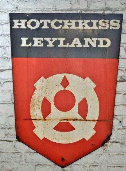 Plaque Hotchkiss Leyland (100x68cm)