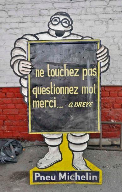 Plaque Michelin (158x98cm) - LOT RETIRE DE...