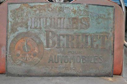 Plaque Huiles Berliet (48x69cm)