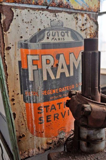 Plaque Fram (50x40)