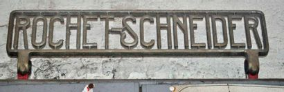 Enseigne Rochet Schnieder (55x15 cm)
