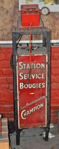 Station Service Bougies Champion (130x32...