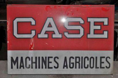 Enseigne lumineuse CASE Machines agricoles...