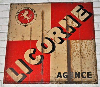 Plaque La Licorne (80x80cm)