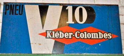 Plaque Kleber-Colombes V10 (45x95 cm)