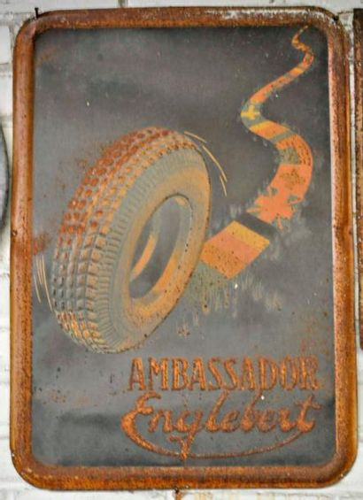 Plaque Ambassador Englebert (70x40 cm)