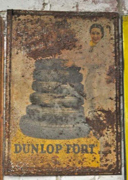 Plaque Dunlop Fort (50x40cm)
