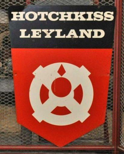 Enseigne Hotchkiss Leyland double face (100x70...