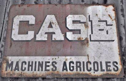 Plaque CASE machines agricoles (50x75cm)