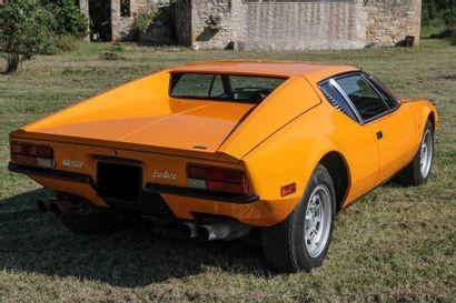 DE TOMASO PANTERA – 1972 N° de Serie: THPNML04337 Pour certains puristes ce sont...