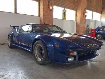 DE TOMASO PANTERA GTS – 1978 N° Série : 874 THPN A 09104 GTS, la Pantera, prend du...