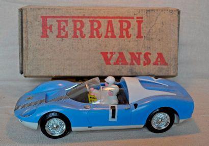 Jouet Ferrari Vansa prototype, complet avec...
