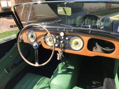MORGAN- 1958 N° Série : 4648 La +4 est certainement, et encore plus la 2L, la préférée...
