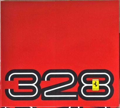 Brochure pour Ferrari Testarossa, 328