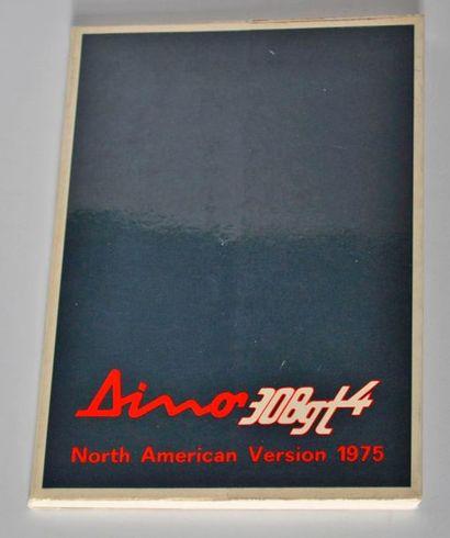 Owner's Manual Dino 308 GT4 NA N° 100/74
