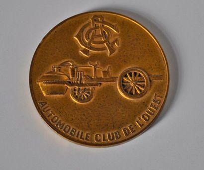 Pilote 24h Le Mans 1960. Médaille