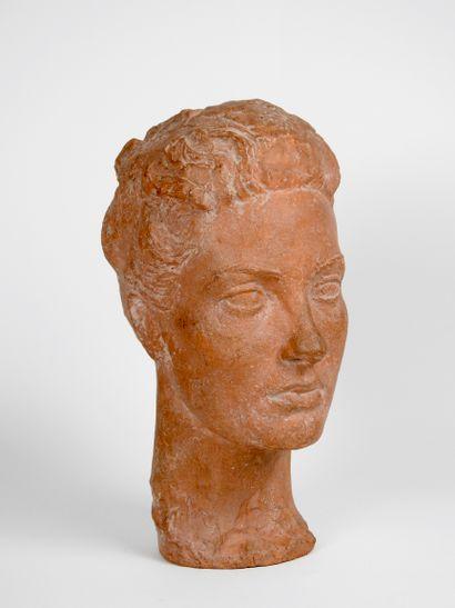 Jacob Loutchansky (Ukraine, 1876-1978)  Buste...