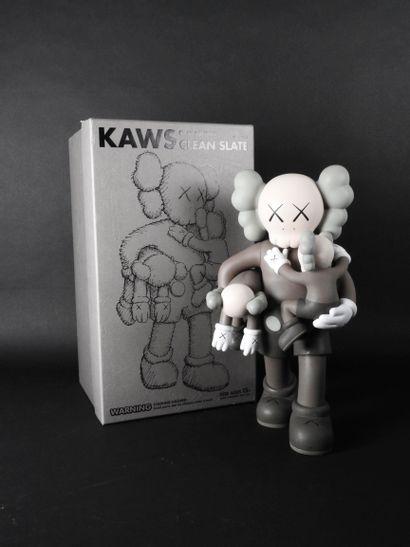Kaws (né en 1974)  Clean Slate (Brown),...