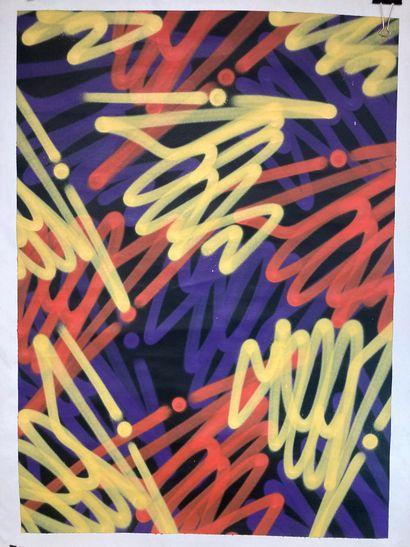 Seen (né en 1961)  Sans titre, 2018  Peinture...