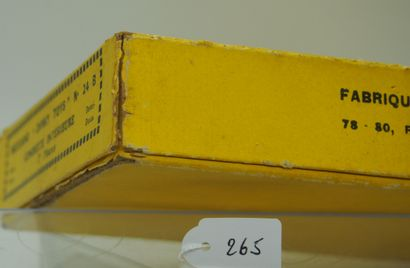 DINKY-TOYS - France - 1/43e - Carton (1)  TRÈS RARE  BOÎTE REVENDEUR (VIDE) 6 PIÈCES...