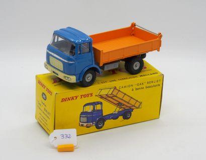DINKY TOYS - FRANCE - Métal (1)  # 585 BERLIET...