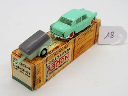 NOREV - France - 1/86e - Plastique (1)  MICRO MINIATURE en boîte carton façon caisse...