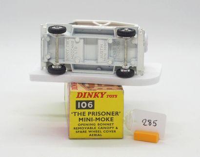 """DINKY TOYS - Grande-Bretagne - Métal Plastique (1)  # 106 - AUSTIN MINI MOKE """"LE..."""