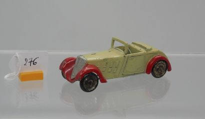 DINKY-TOYS - France - 1/43e - Plomb (1)  RARISSIME !  # 22 A ROADSTER SPORT 1934...