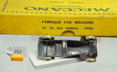 DINKY-TOYS - France - Boîtage 1/43e - Plomb (2)  RARISSIME !  - BOÎTE VIDE 6 PIÈCES...