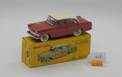 DINKY TOYS - FRANCE - Métal (1)  # 554 OPEL...