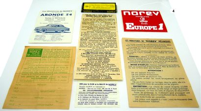 NOREV - France (7)  Batch of documents comprising:...