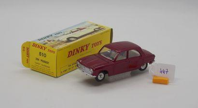 DINKY TOYS - FRANCE - Métal (1)  # 510 PEUGEOT...