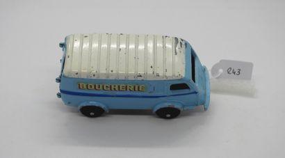 CIJ - France - 1/43e - Métal (1)  TRÈS RARE!  # 3/60 B RENAULT 1.000 Kg BOUCHERIE...