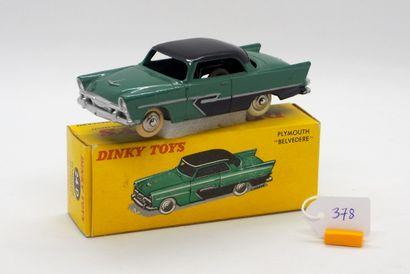DINKY TOYS - FRANCE - Métal (1)  # 24 D PLYMOUTH...