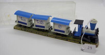 NOREV - France - 1/86e - Plastique (1)  # 134/1 LE PETIT TRAIN INTERLUDE de Maurice...